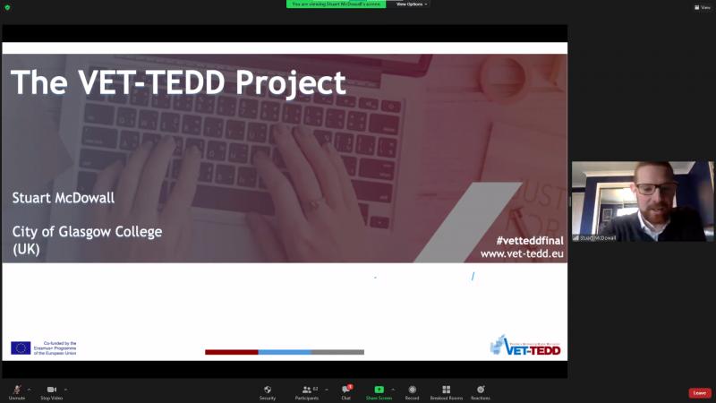 Predstavitev projekta VET-TEDD